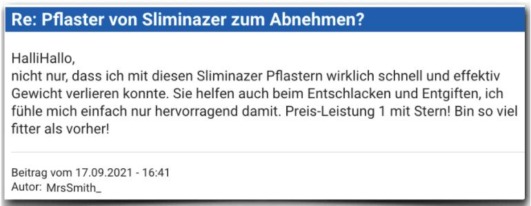 Sliminazer Erfahrungsbericht Bewertung Erfahrungen Sliminazer