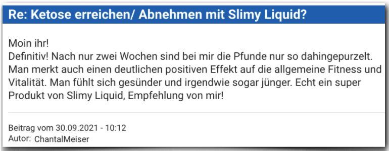 Slimy Liquid Erfahrungsbericht Bewertung Bewertungen Erfahrungen Slimy Liquid